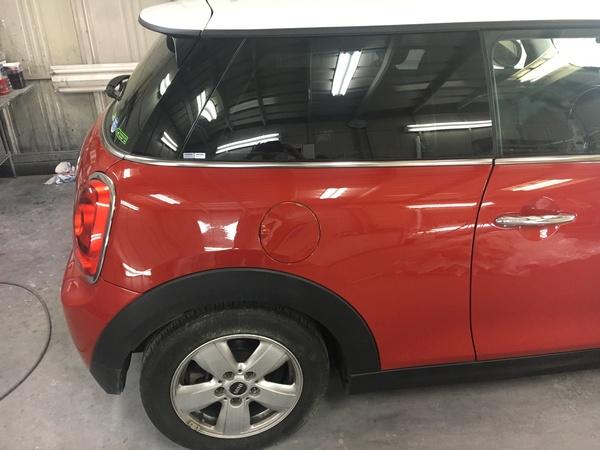 M's COLLECTION 茨城県MINI専門店!!板金塗装、ヘッドライト黄ばみ除去施工、全塗装MK-1スタイル
