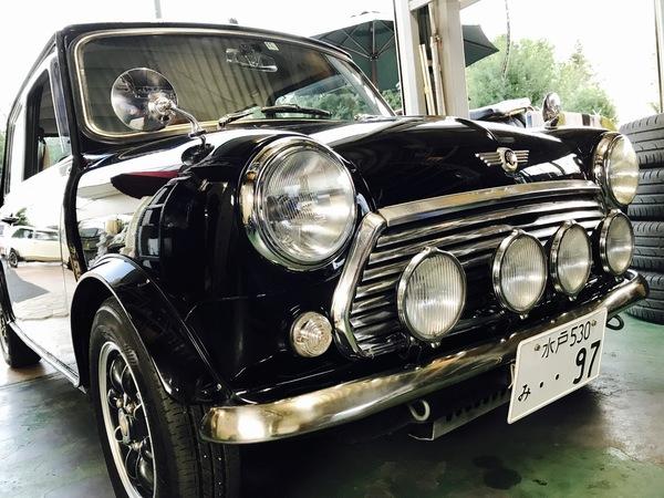 茨城のミニ専門店Blog🇬🇧4連フォグ&日英自動車♫