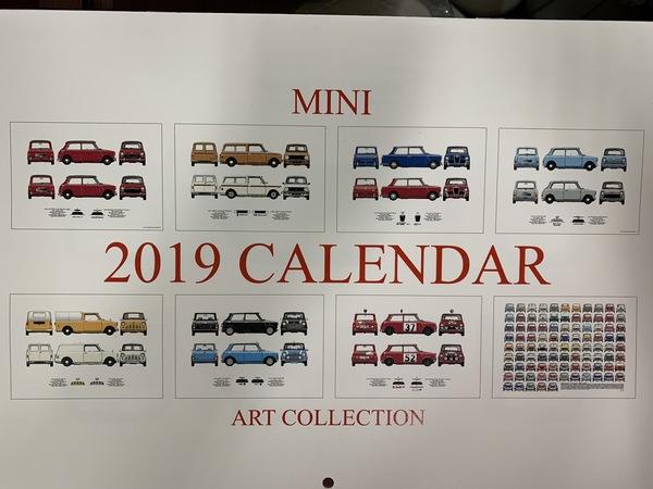 M's COLLECTION!!茨城MINI専門店!!MINIのカレンダー入庫しました。