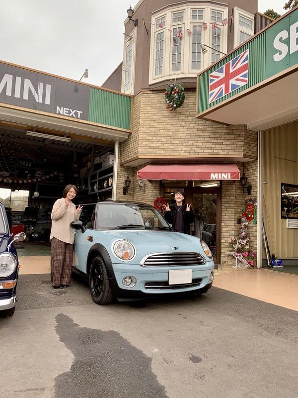 茨城ミニ専門店🇬🇧R56アイスブルー納車🎵