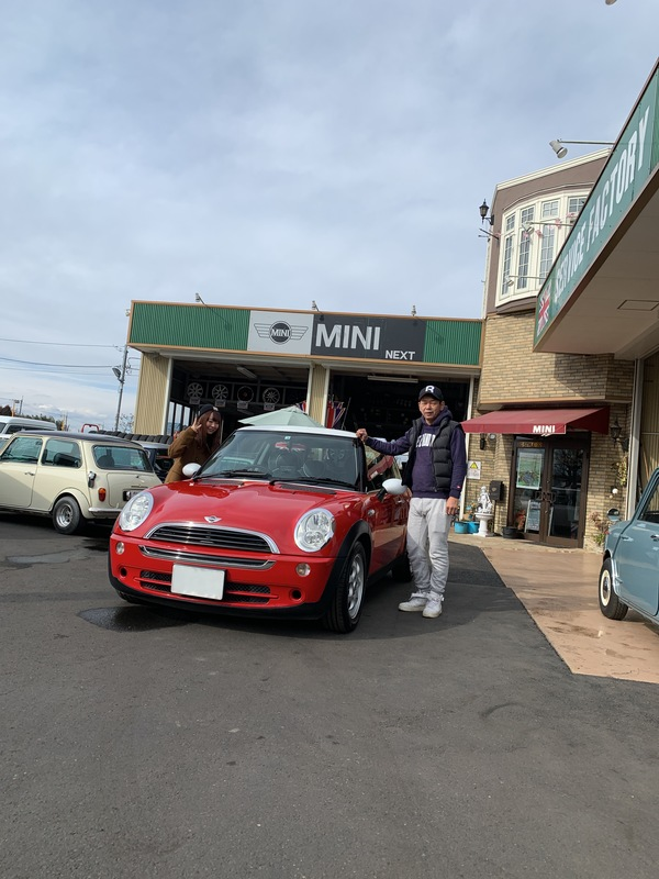 M's COLLECTION!!茨城MINI専門店!!R50納車しました。