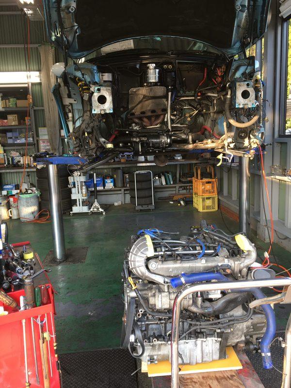 MINI専門店エムズコレクションMINIエンジン脱着修理、ボディレストア板金塗装、MINI商品車