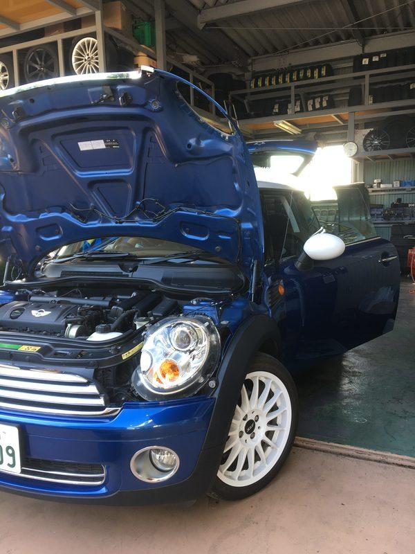 茨城ミニ専門店エムズコレクションローバーミニ、BMWミニ販売修理レッカー搬送