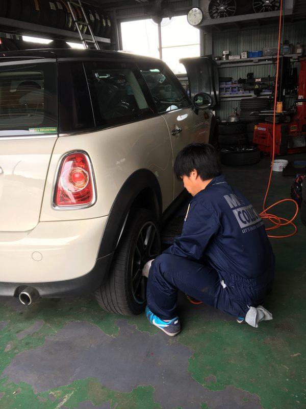 茨城ミニ専門店オイル&タイヤ交換修理、WEBERキャブ調整、PL-500