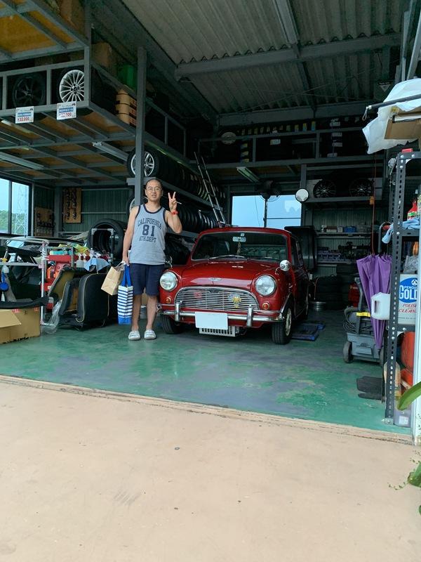 M's COLLECTION!!茨城MINI専門店!!納車しました。
