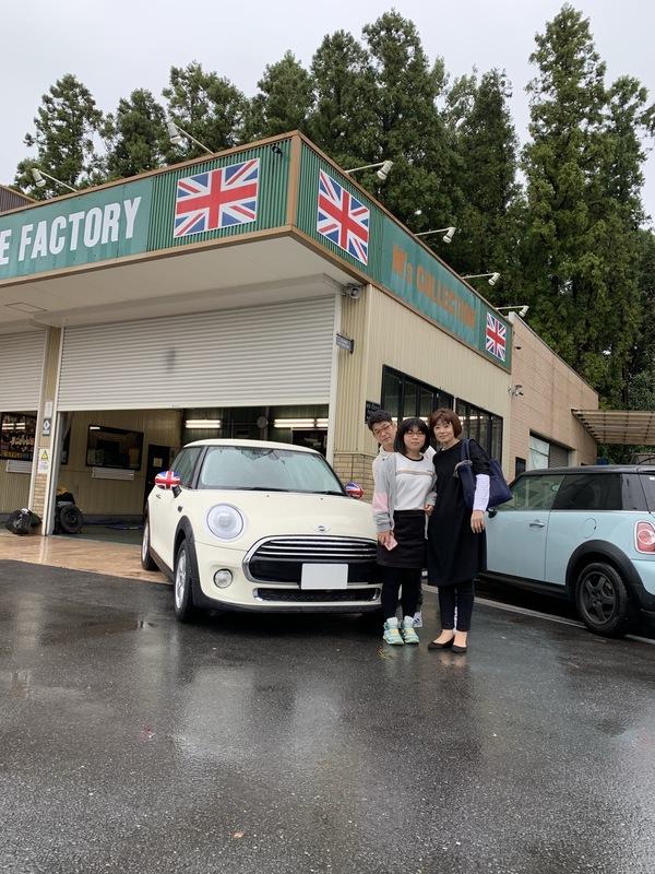 M'sCOLLECTION!!茨城MINI専門店!!MINI納車致しました。