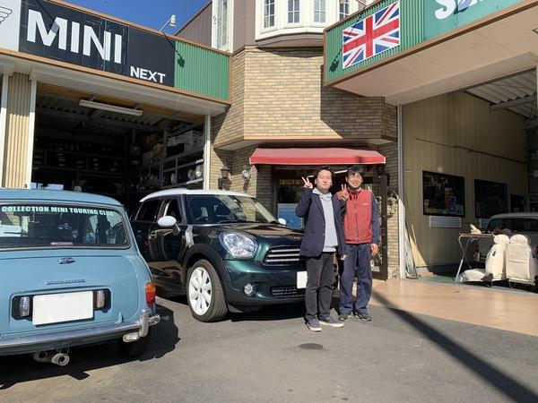 M's COLLECTION!!茨城MINI専門店!!    R60ワンオーナーキセノンヘッドライト付き、納車しました。