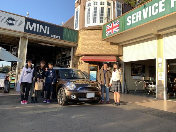 M's COLLECTION!!茨城MINI専門店!!R55納車しました。