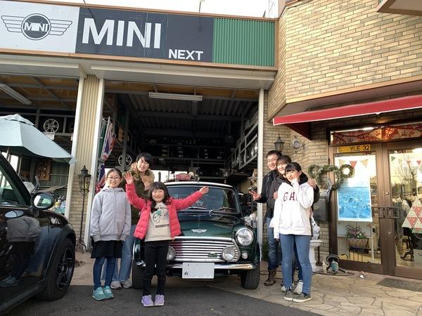 MINI専門店!!納車しました。