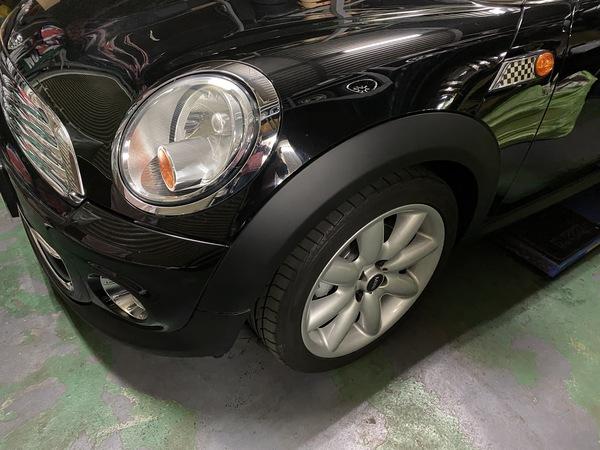 ミニクーパー専門店エムズコレクションR56クーパー商品車、車検、ホイール修理塗装