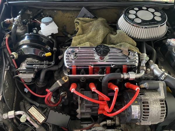 ミニ専門店エムズコレクションMINIクーパーブレーキバージョンアップ、エンジンオーバーホール&クーラーからエアコンにバージョンアップ