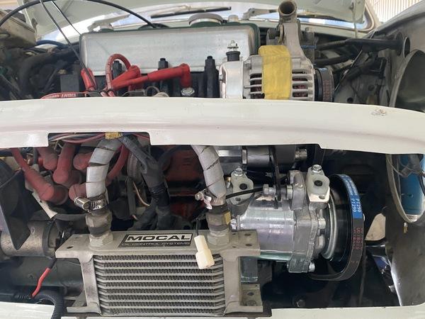 MINI専門店エムズコレクションミニクーパーエアコン取付、ミニ1000エンジンオーバーホール、バンプラステアリングラック修理