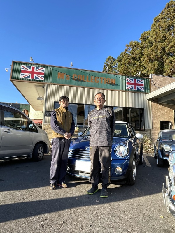 MINI専門店エムズコレクションミニクーパーR56最終モデル、本日納車しました